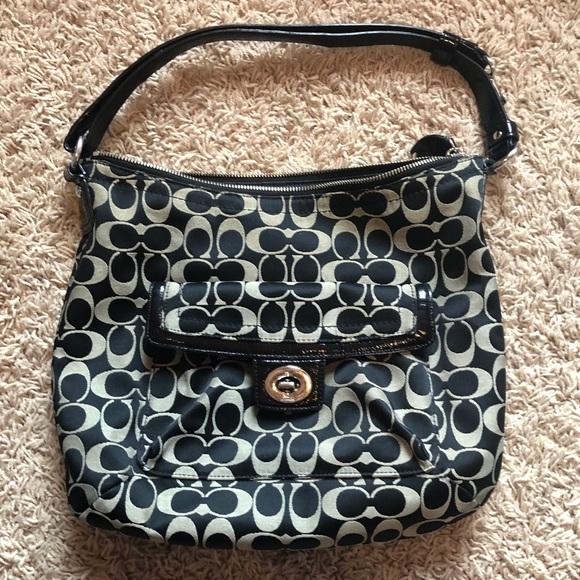 Coach Handbags - Coach Signature Jacquard handbag
